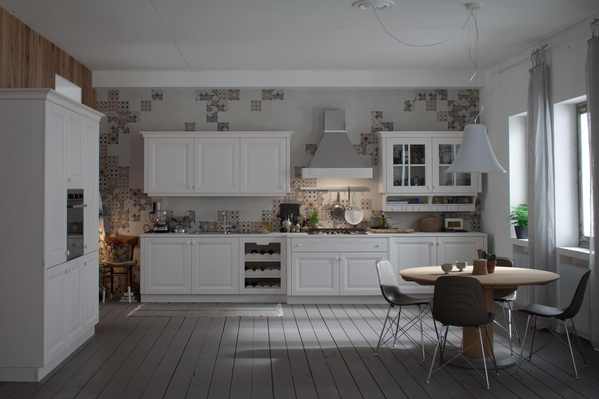 Veneta cucine modello pavese obliquo design - La veneta cucine ...