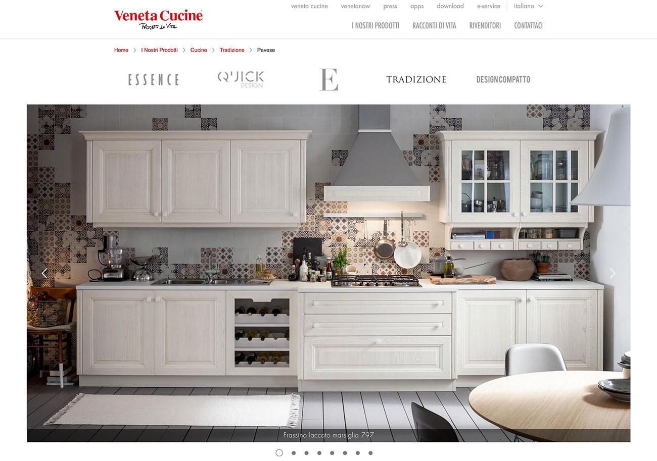 Veneta Cucine, modello Pavese | Obliquo Design