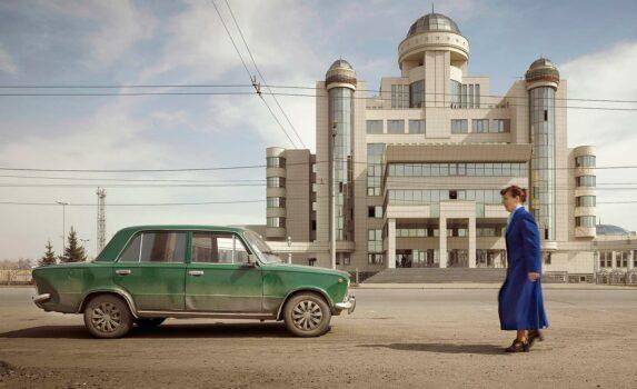 Imperial Pomp - Post Soviet High-Rise fotografie di Frank Herfort